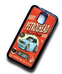 KOOLART PETROLHEAD SPEED SHOP Design For Retro Mk2 Ford Cortina Tina Case Cover Fits Samsung Galaxy S5